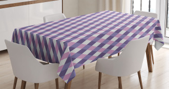 Mosaic Crossed Pattern Tablecloth