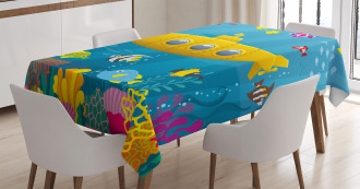 Coral Reef Tablecloth