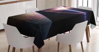 Massive Planets Cosmo Tablecloth