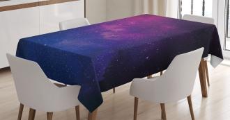 Stardust Space Rainbow Tablecloth