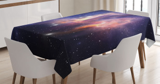 Stardust in Universe Tablecloth