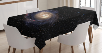 Spiral Space Universe Tablecloth