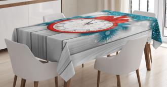 Midnight Clock Pine Tablecloth
