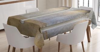 Antique Ancient Interior Tablecloth