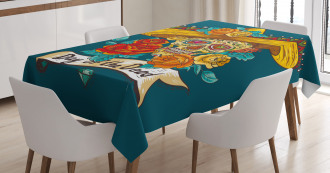 Mexican Festive Hat Tablecloth
