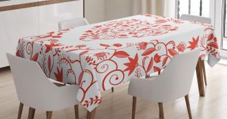 Paisley Design Tablecloth