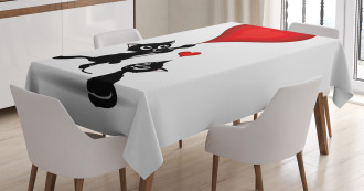 Baby Cats Balloons Tablecloth