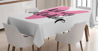Heart Love Image Tablecloth