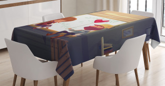 Love Romantic Couple Tablecloth