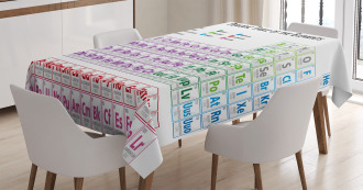 Chemistry Primary Table Tablecloth
