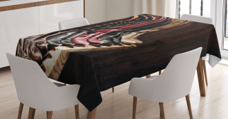 Cowgirl Fancy Rodeo Tablecloth