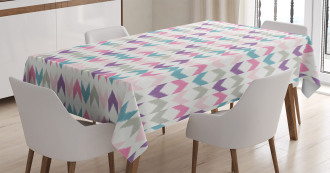 Eastern Chevron Boho Tablecloth