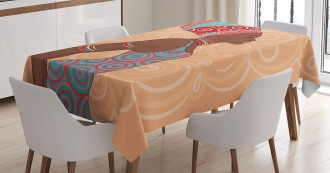 Ethnic Tribal Native Trend Tablecloth