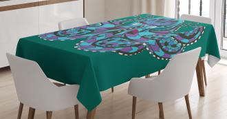 Ethnic Legendary Totem Tablecloth