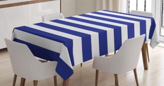 Navy Nautical Marine Tablecloth