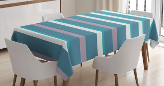 Turquoise Teal Pattern Tablecloth