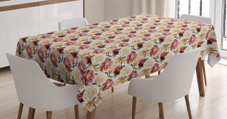 Country Bouquet Blossom Tablecloth