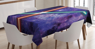 Fantastic Space Clash Tablecloth