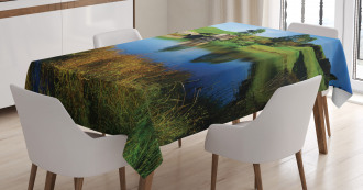 Hobbit Land Village House Tablecloth