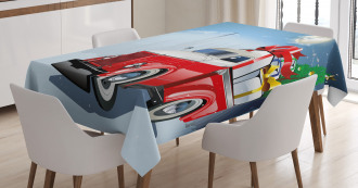 American Truck Gifts Tablecloth