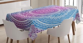 Mandala Pattern Tablecloth