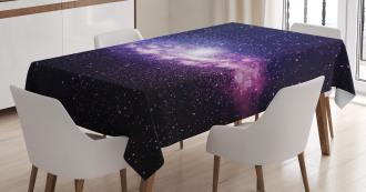 Nebula Cloud Milky Way Tablecloth