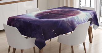 Outer Space Planets Mars Tablecloth