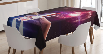 Milky Way Galactic Theme Tablecloth