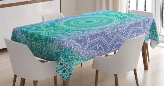 Mandala Geometric Figure Tablecloth