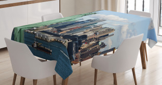 Statue of Lİberty NYC Tablecloth