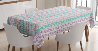 Geometric Ancient Art Tablecloth