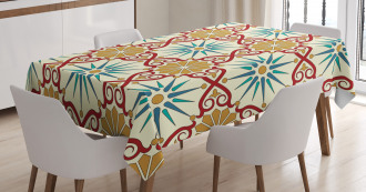 Sacred Geometric Forms Tablecloth