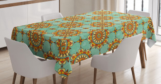 Eastern Victorian Form Tablecloth