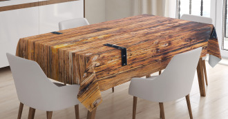 Timber Planks inTones Tablecloth