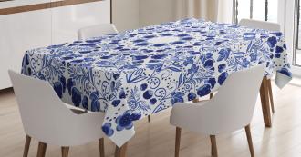 Ethnic Oriental Boho Tablecloth