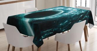 Solar System Star Scenery Tablecloth