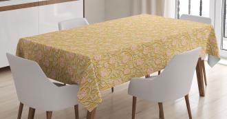 Romantic Rose Petal Tablecloth