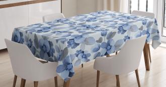 Paintbrush Camelia Leaf Tablecloth
