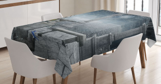 Fictional Mythic Stones Tablecloth