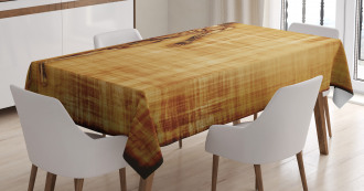 Human Body Style Tablecloth