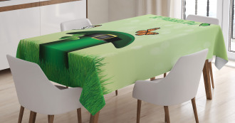 Irish Hat Charm Tablecloth