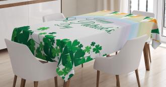 Rainbow Flags Tablecloth