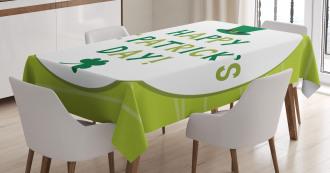 Retro Festive Tablecloth