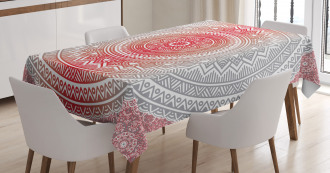 Ombre Mandala Boho Tablecloth