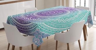 Hippie Mandala Tablecloth
