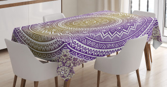 Cosmos Mandala Tablecloth