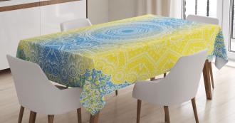 Hippie Ombre Tablecloth