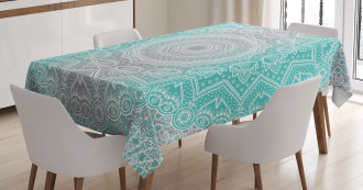 Ombre Ethnic Tablecloth