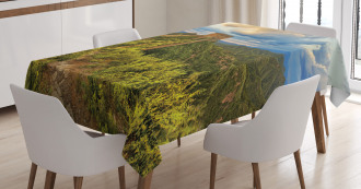 Wonder of World Tablecloth