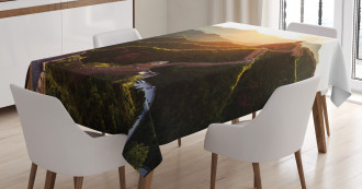 Mystic Sunset Tablecloth